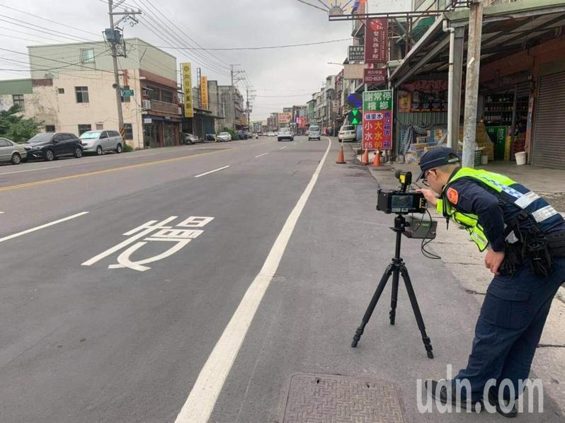平鎮警分局近日將針對轄內易發生重大車禍的時段及路口(段)加強取締。記者高宇震/攝影