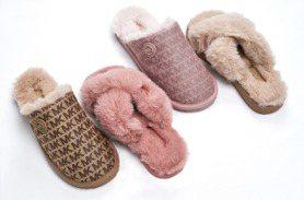 毛茸茸的MK、UGG便鞋超暖 耶誕派對少女系穿搭就選它