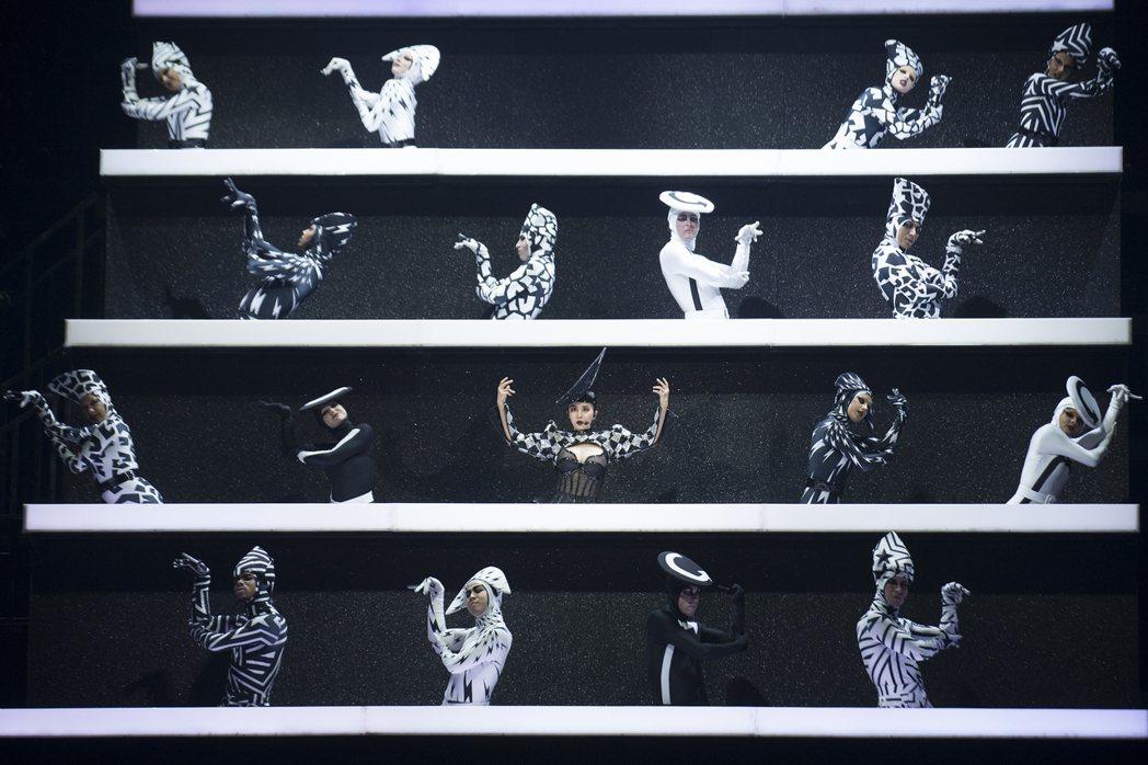 蔡依林高雄巡演今晚續唱第5場。圖/凌時差提供