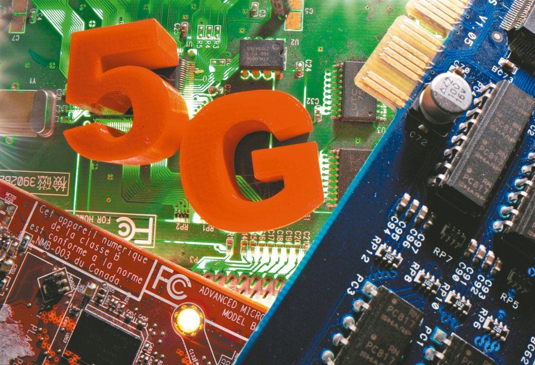 5G是2019年最熱門的產業關鍵字,並一路紅到今年。(本報系資料庫)