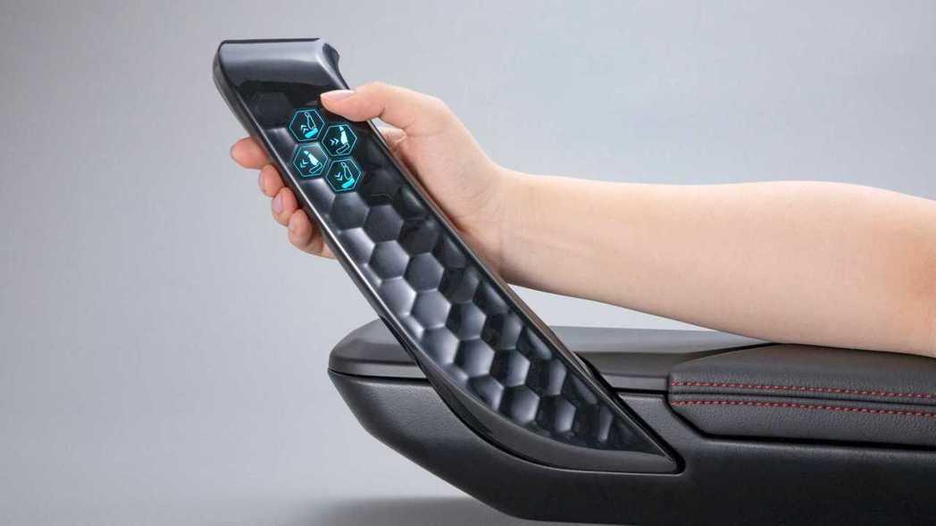 第一個實驗產品就是在門把裝上3D觸控鈕。 圖/Canatu提供