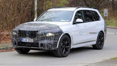 Change & Challenge!BMW小改款X7再度更新設計 採用分離式頭燈?