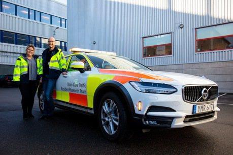 不只安全科技配好配滿 VOLVO甚至還有交通事故調研小組