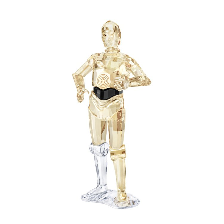 SWAROVSKI x STAR WARS C-3PO擺件,9,490元。圖/施...