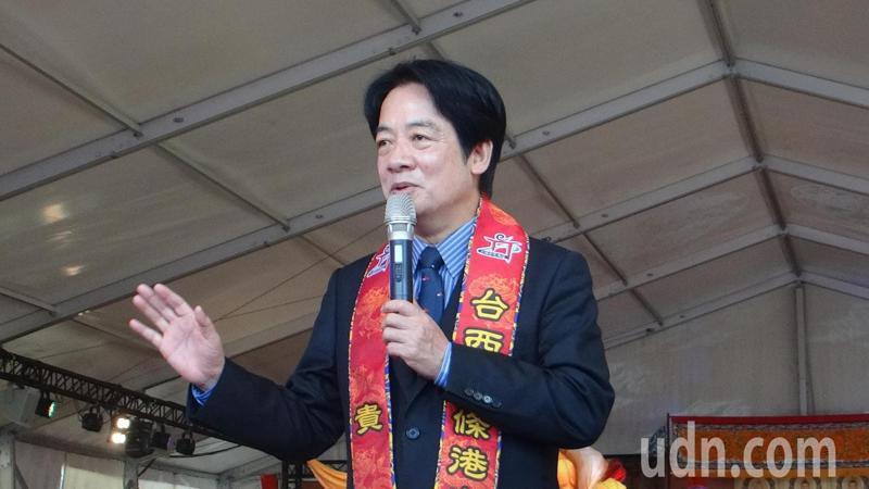 副總統賴清德參加台西鄉安西府大建醮,把廟史說得鉅細糜遺,全場驚訝也贏得滿場掌聲。記者蔡維斌/攝影
