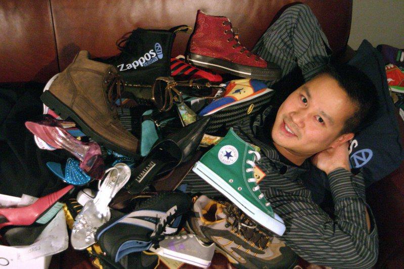 亞馬遜2009年7月22日宣布買下謝家華創辦的網路購鞋網站Zappos.com。法新社