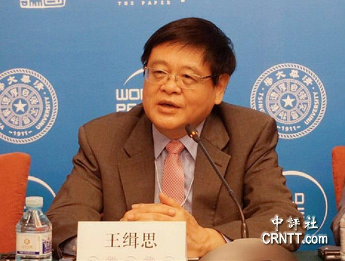 北京大學國際戰略研究院院長王緝思。(香港中評社)