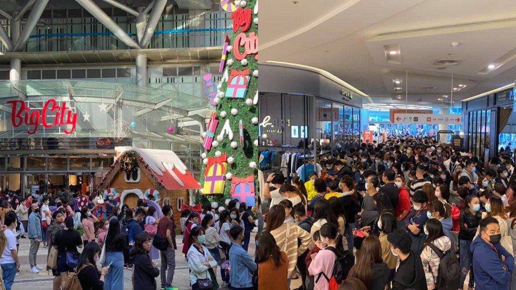 全台壓軸的巨城購物中心周年慶首四日業績衝12億,來客、客單皆創新高。圖/巨城購物...