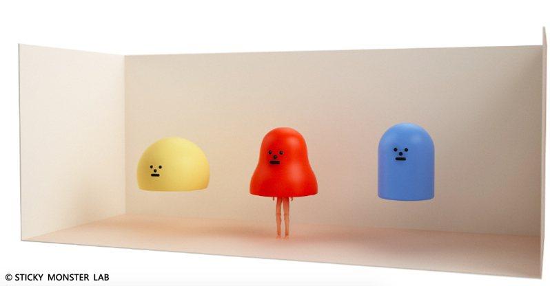 南韓「黏黏怪物研究所:登入計畫特展」明年一月登台,預售優惠開賣中。圖/聯合數位文創提供