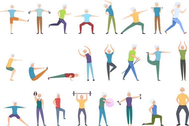 將運動視為一項工作是有道理的,因為當你超過五十歲後,運動就不再是可選擇的項目。你...