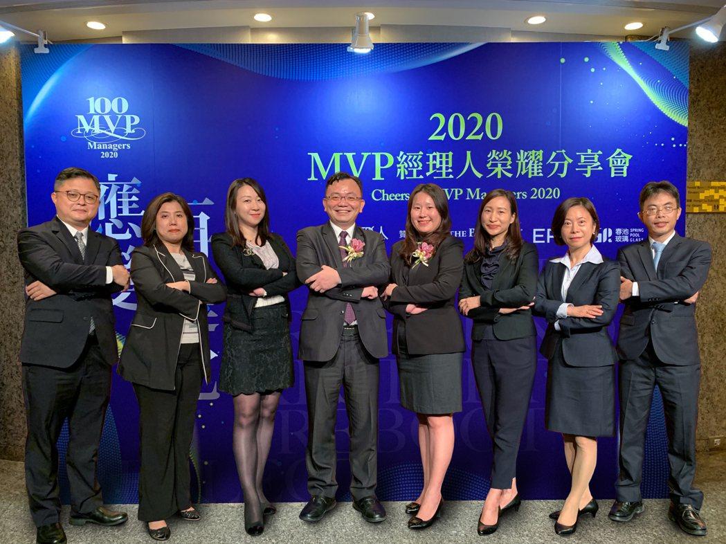 國票綜合證券資本市場部專業實力堅持,獲頒《經理人月刊》2020年度百大MVP經理...