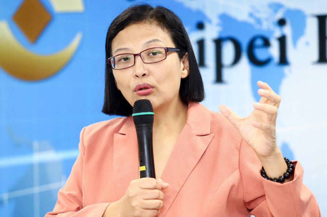 環球晶圓董事長徐秀蘭。記者王騰毅/攝影
