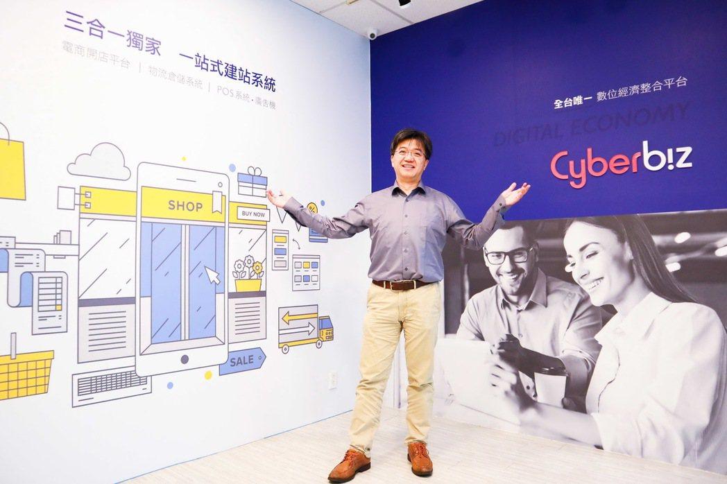 Cyberbiz CEO蘇基明。 Cyberbiz/提供