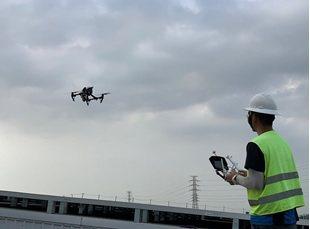 無人機熱顯像巡檢 艾思特/提供
