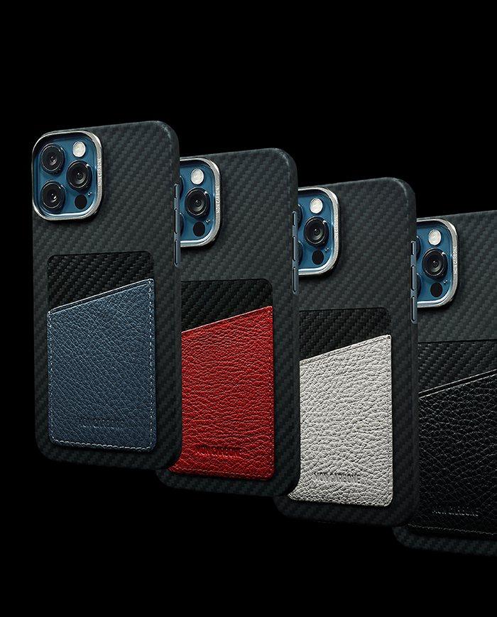 MON CARBONE也推出iPhone 12全新防彈纖維系列。 業者/提供