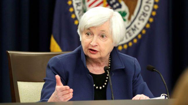 美國總統當選人拜登已宣布,將提名聯準會(Fed)前主席葉倫主掌財政部。圖/路透