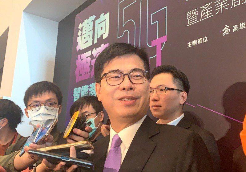 高雄市長陳其邁。聯合報系記者徐如宜/攝影