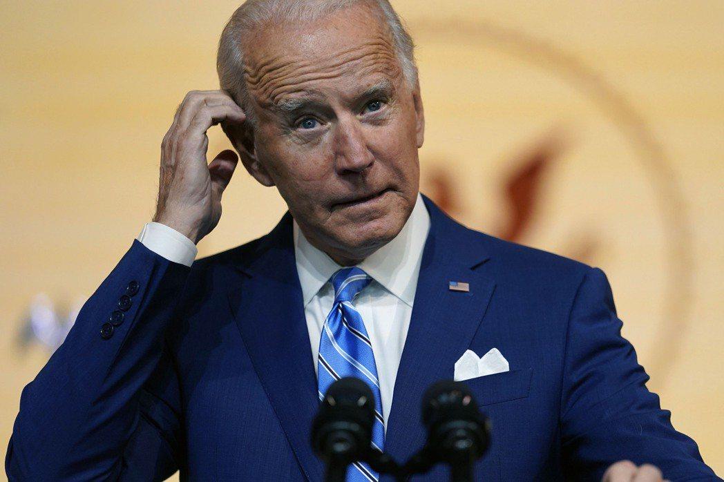 美國總統當選人拜登。美聯社