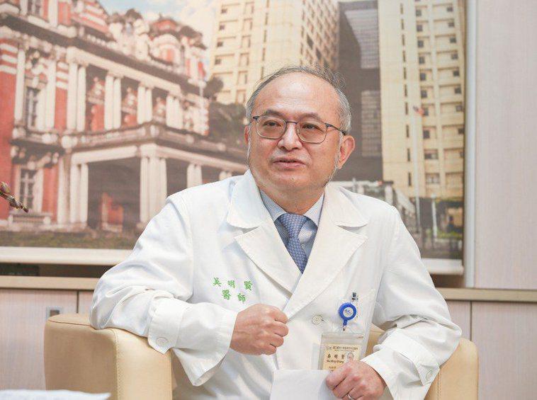 台大醫院院長吳明賢。