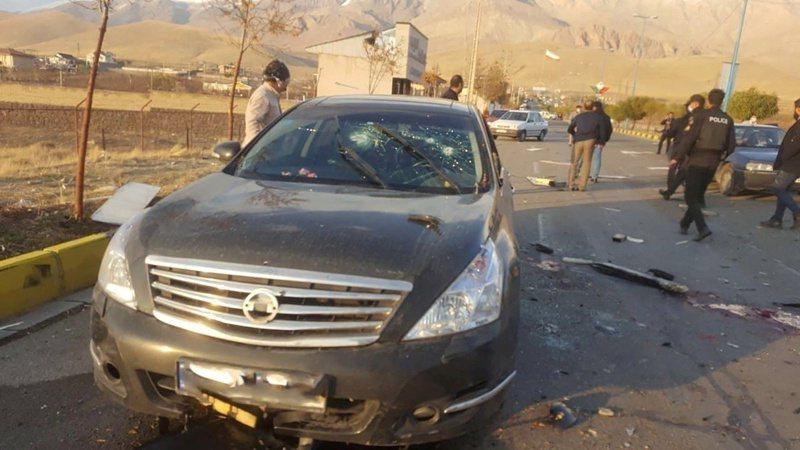 被譽為伊朗「核武計畫之父」的科學家法克里薩德(Mohsen Fakhrizadeh)日前於首都德黑蘭郊區慘遭暗殺身亡。路透
