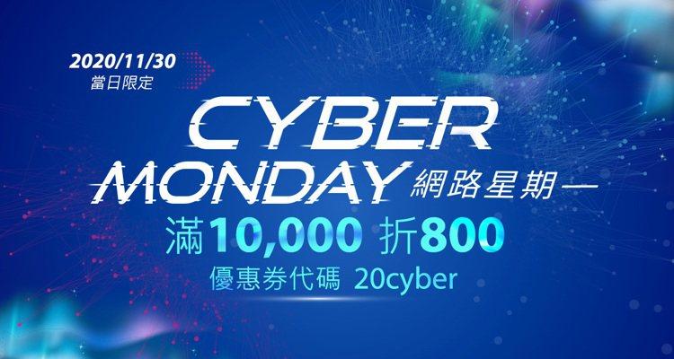 好市多再推「Cyber Monday」活動,11月30日當天結帳輸入優惠券代碼,...