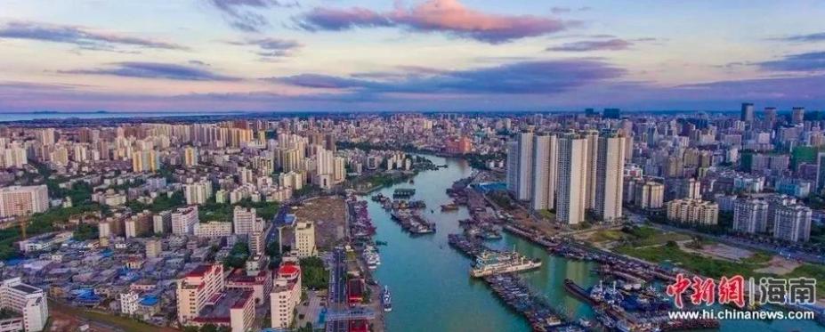 海南自由貿易港進口原料「零關稅」十二月一日起實行。(中新網資料照片)