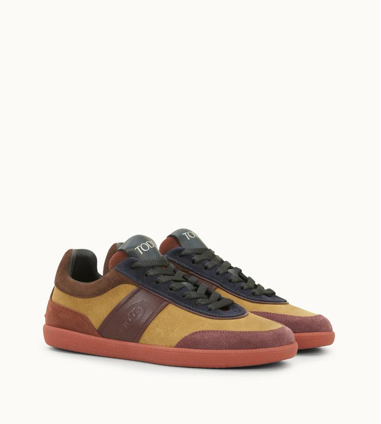 TOD'S Cassetta復古休閒鞋。圖/迪生提供