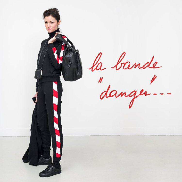 「danger stripe」女裝系列。圖/agnès b.提供