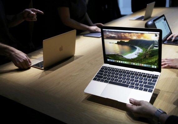 蘋果近期再度向美國專利商標局申請新專利,最快明年導入新Mac筆電產品內,GIS、TPK有望入列供應商。(路透)