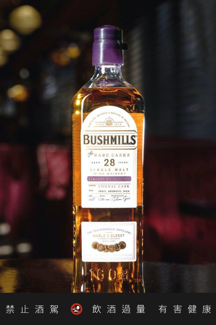 布什米爾28年,目前僅限於美國市場發行。圖/摘自Dramstreet.com。提...