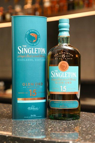 蘇格登15年單一麥芽威士忌,具備醇順平衡的口感與溫暖馥郁的花果香氣。記者吳致碩/...