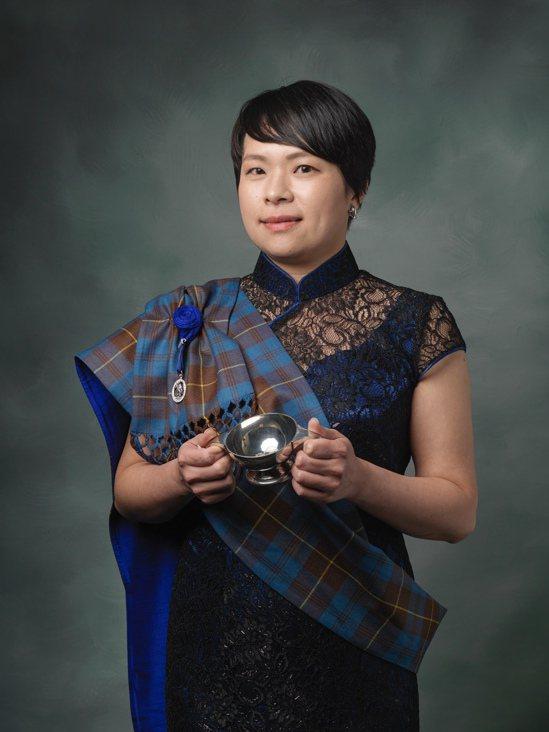2019年成為蘇格蘭雙耳小酒杯護持者終身會員。圖/林淑君提供