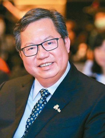 桃園市長鄭文燦 記者潘俊宏/攝影