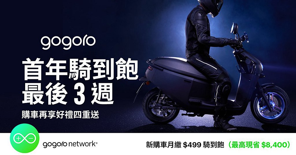 Gogoro同步推出S級強檔優惠,S Performance指定車型最高可享優惠...