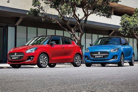 ACC、DSBS、BSM+輕油電!小改款Suzuki Swift台灣展開預售