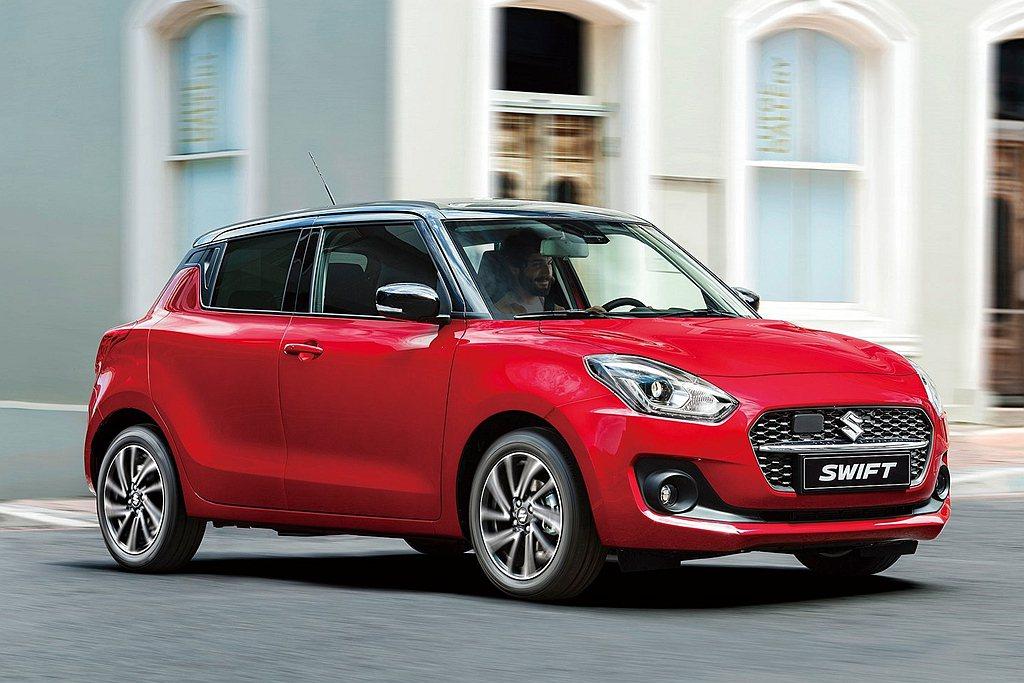 小改款Suzuki Swift導入Mild Hybrid輕油電科技,結合ISG整...