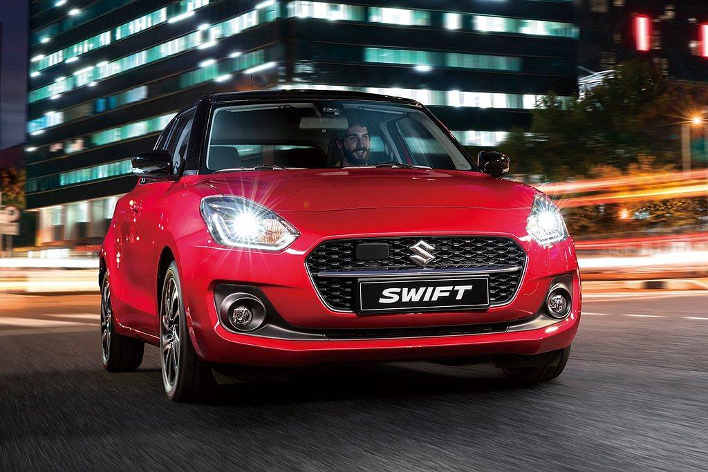 小改款Suzuki Swift全面導入SUZUKI Safety Support...