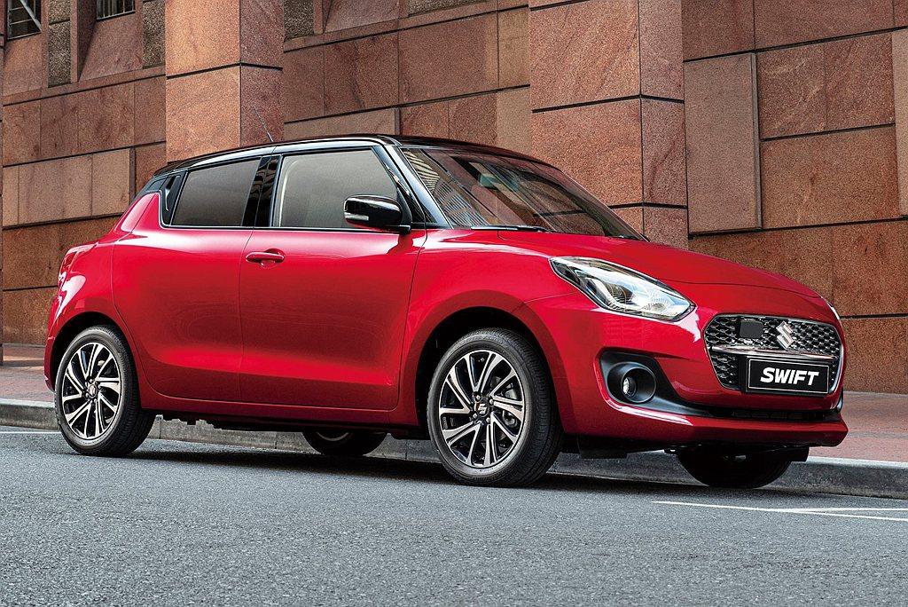 12月01日起接受預訂小改款Suzuki Swift預售價為單色:72萬元;雙色...
