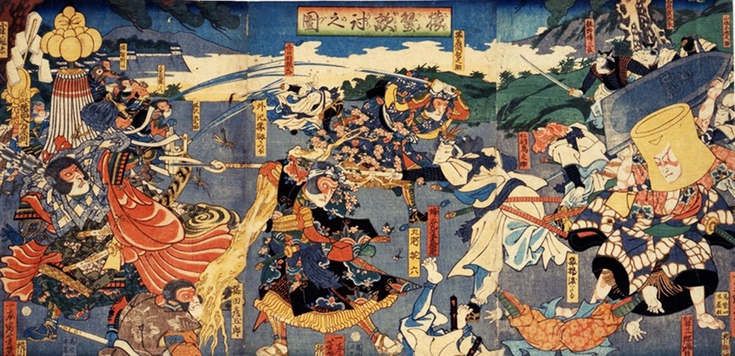 「或許創作原點...是日本童話〈猿蟹合戰〉吧?」馳星周今年接受《NHK》的訪問時...