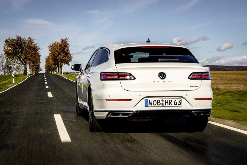 全新Volkswagen Arteon eHybrid插電式油電混合動力車型正式...