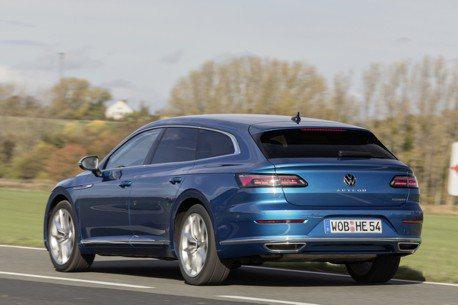 近60公里的純電續航力 全新Volkswagen Arteon eHybrid插電美背正式報到!