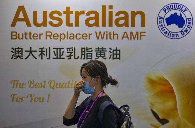 澳洲與中國之間持續升高的貿易緊張,緊張可能只是一種更大衝突的一部分。圖/歐新社