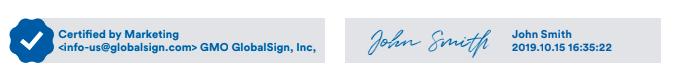 郵件數位認證可分為認證型與簽署型。 GlobalSign /提供