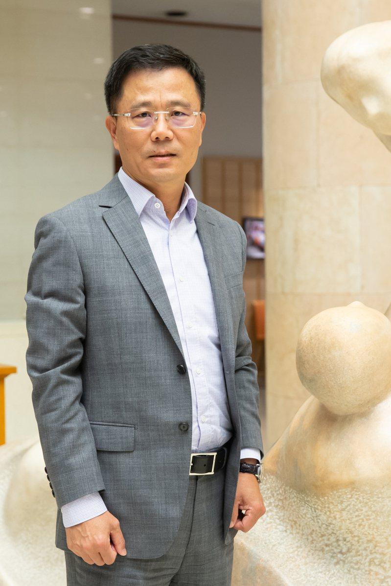 國泰人壽總經理劉上旗。記者季相儒攝影/報系資料照