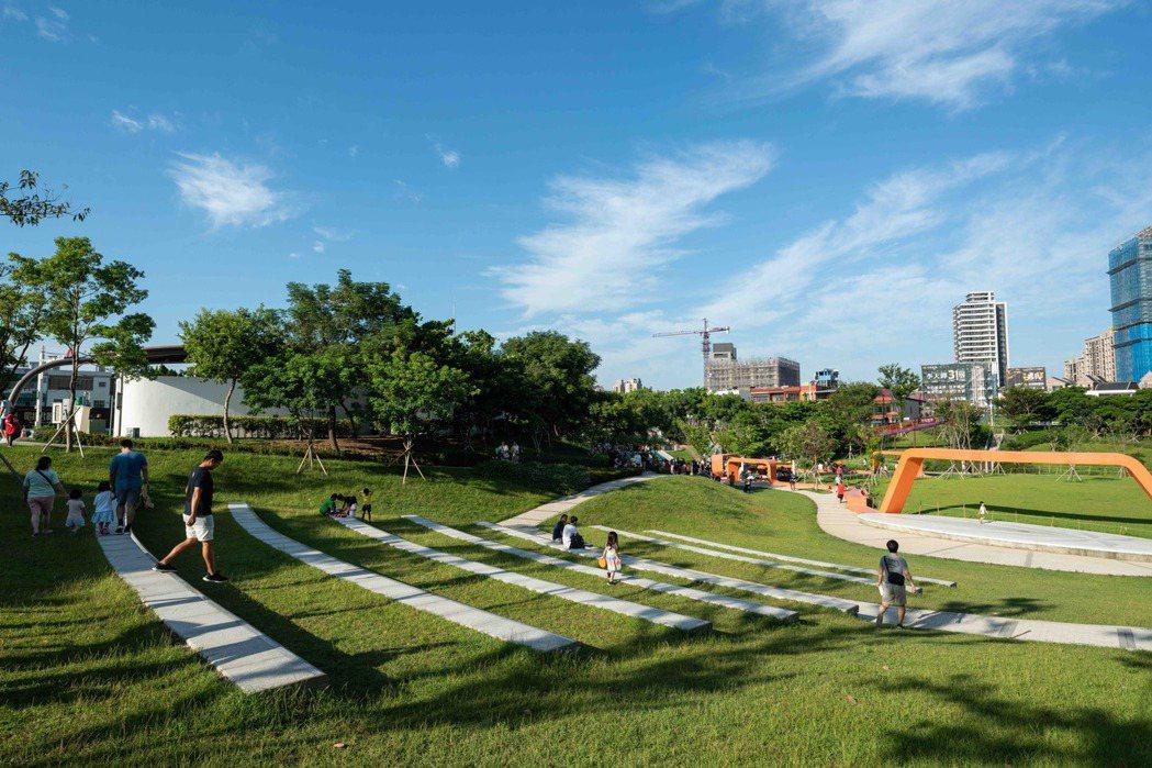 桃園風禾公園有萬坪綠地和完善設施,成為中高資產族的置產換屋首選。