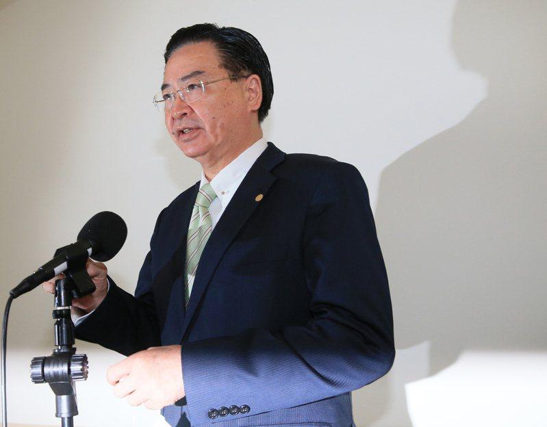 外交部長吳釗燮(圖)。記者潘俊宏/攝影