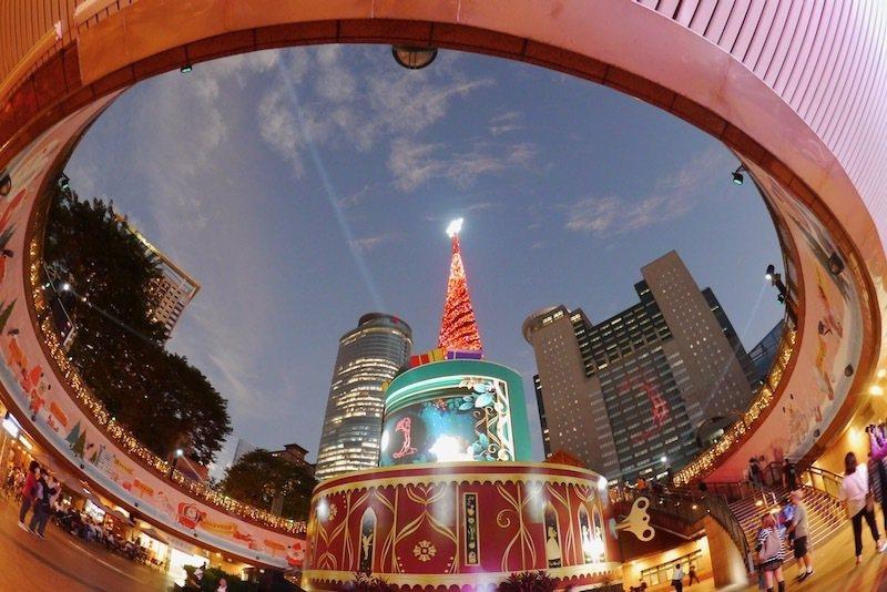 拍攝地點:市民廣場商店街。