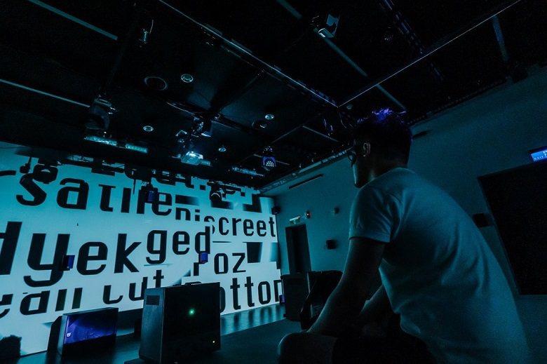 多媒體聲音劇作《色度:賈曼計畫》聲響實驗室試映。 (C-LAB臺灣聲響實驗室/提供)