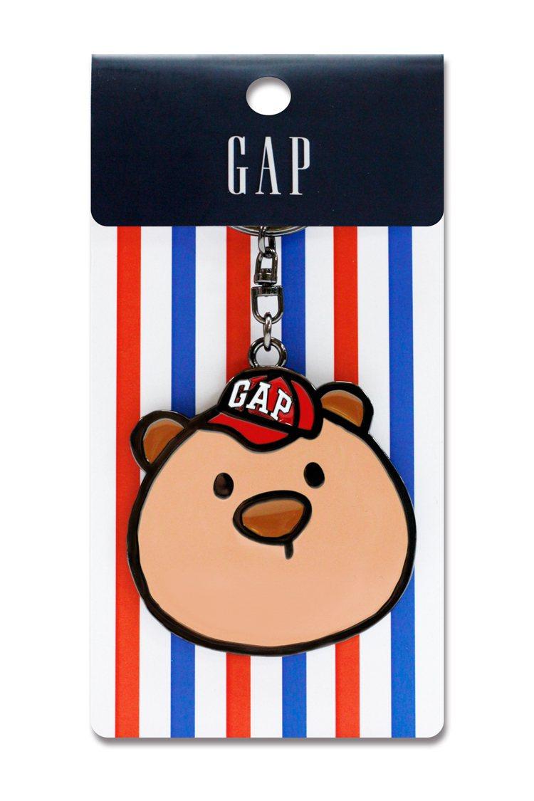 GAP義大世界Outlet開幕期間,單筆消費滿999即贈獨家限量的布萊納小熊鑰匙...