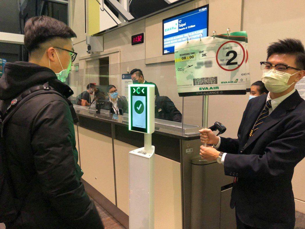 長榮航空持續優化防疫措施,加入美國生物辨識出境計畫(Biometric Exit...